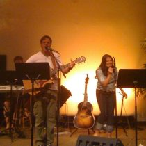 Worshiping with Kylene